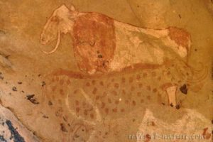 rêves et nature peinture du Tassili